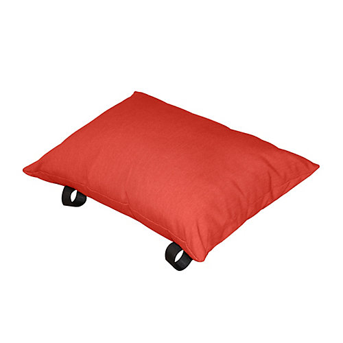 Oreiller de polyester (rouge cerise)