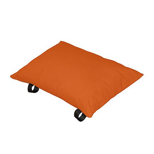 Oreiller de polyester (zeste d'Orange)