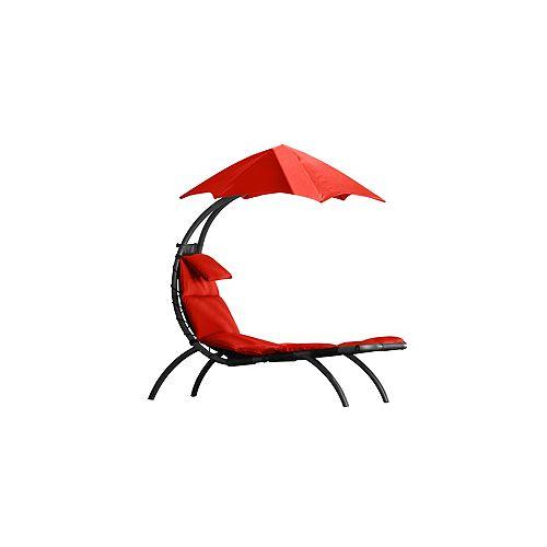 Le rêve initial Lounger - Rouge cerise