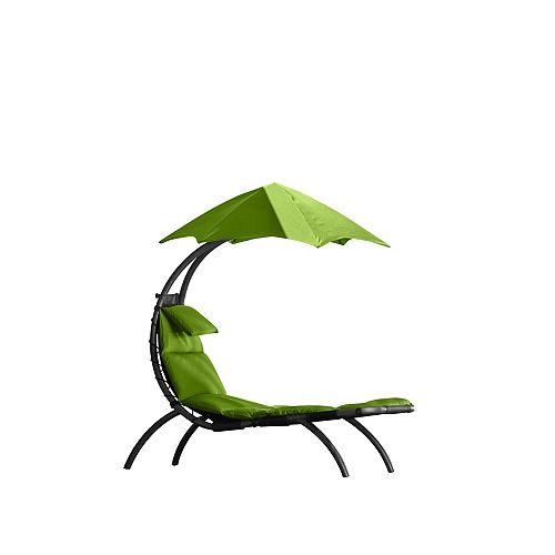 Le rêve initial Lounger - pomme verte