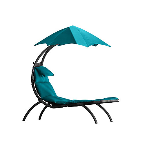 Le rêve initial Lounger - vrai Turquoise