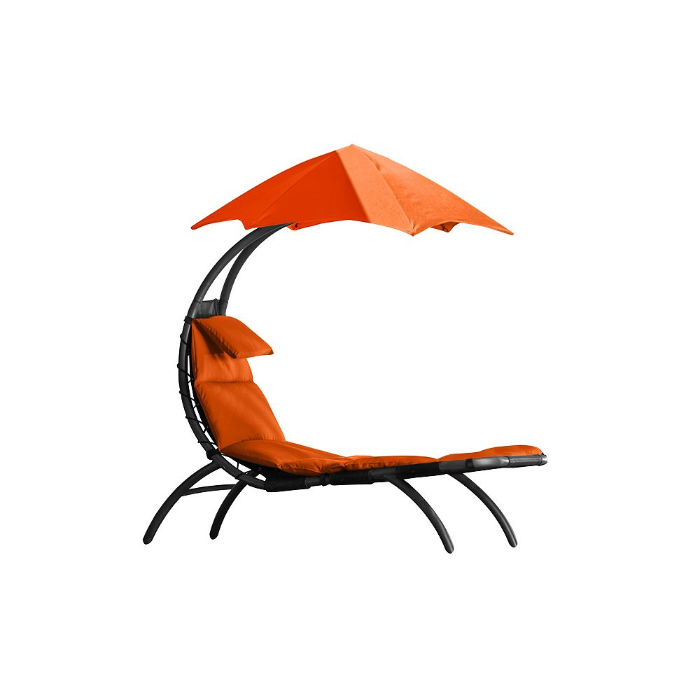 Vivere The Original Dream Lounger - Orange Zest NEW
