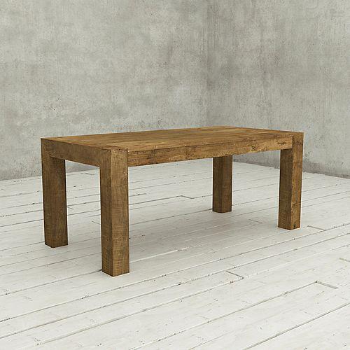 La table rectangulaire de 70 po Villa-Bois naturel
