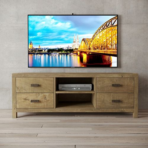 58 Inch  Brookside TV Console Natural