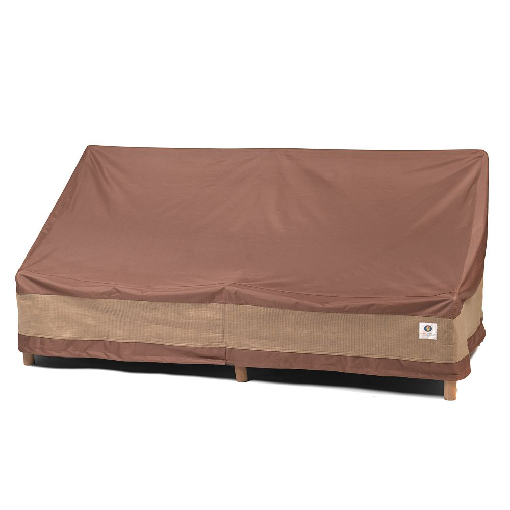 Duck Covers Ultimate 70 Inch W Patio Loveseat Cover