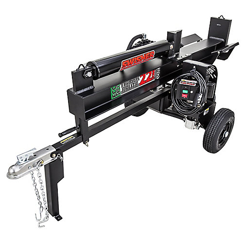 22 Ton Log Splitter with 2HP Electric Motor