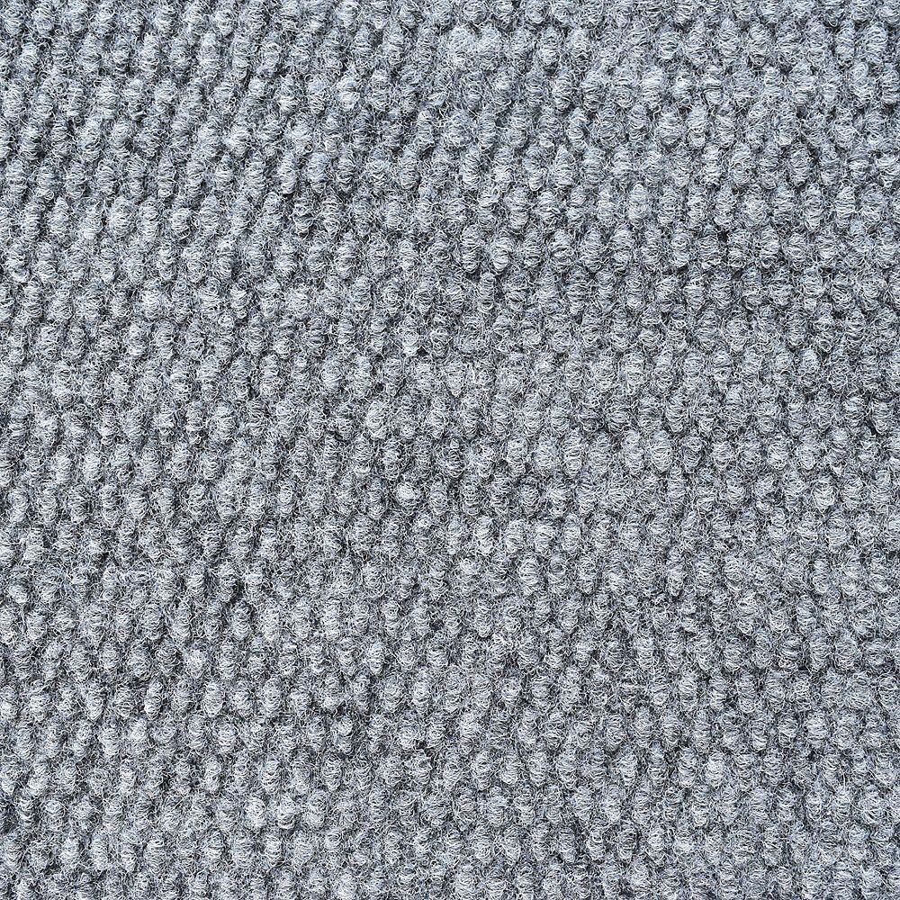 Lanart Rug Solutions Grey 12 ft. x 112 ft. 6-inch Rectangular Area Rug