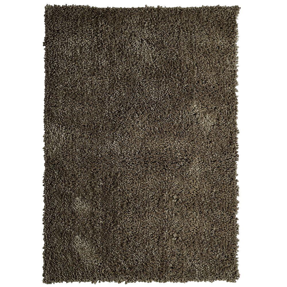 Lanart Rug Carpette, 5 pi x 7 pi 6 po, rectangulaire, brun Palazzo