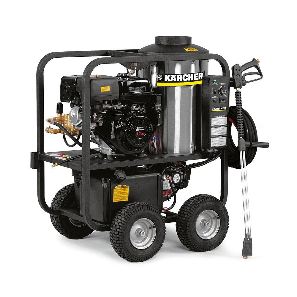 Karcher HDS 3.5/30 P- cage Gas Hot Water Power Washer