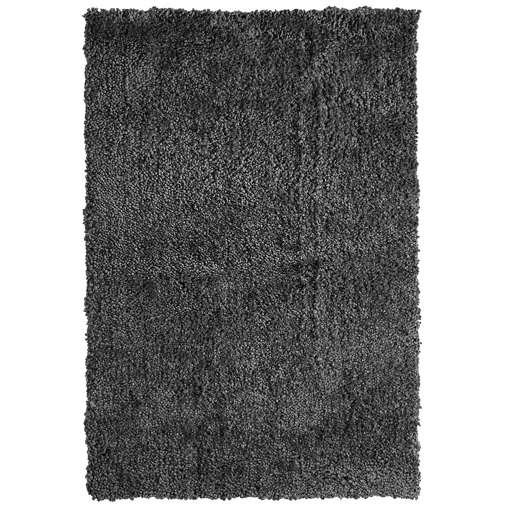 Lanart Rug Carpette, 7 pi 6 po x 10 pi, rectangulaire, gris Palazzo