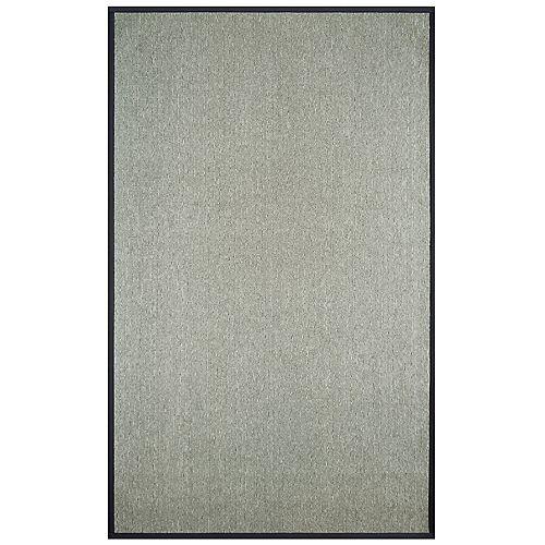 Grey 4 ft. x 6 ft. Rectangular Area Rug