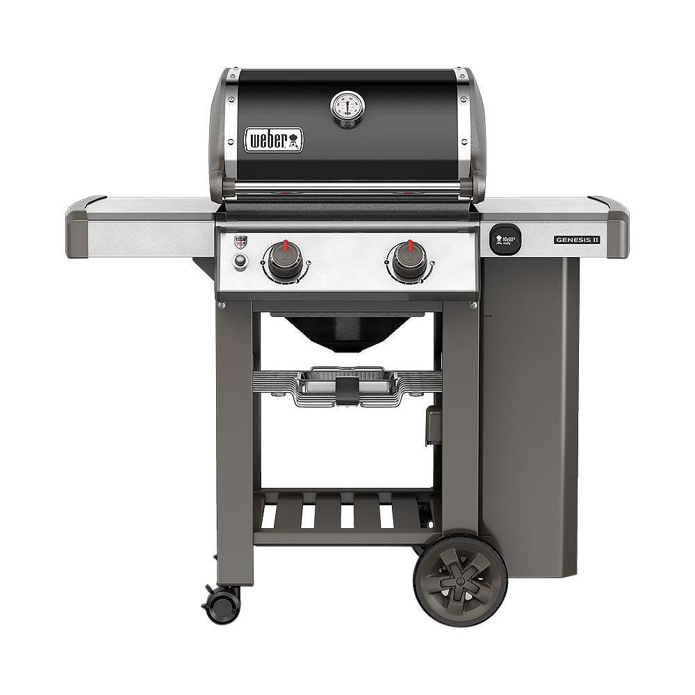 Weber Genesis II E-210 2-Burner Liquid Propane BBQ in Black
