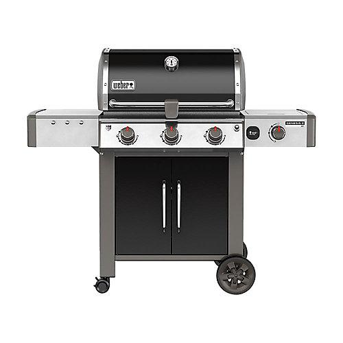 Genesis II LX E-340 3-Burner Natural Gas BBQ in Black