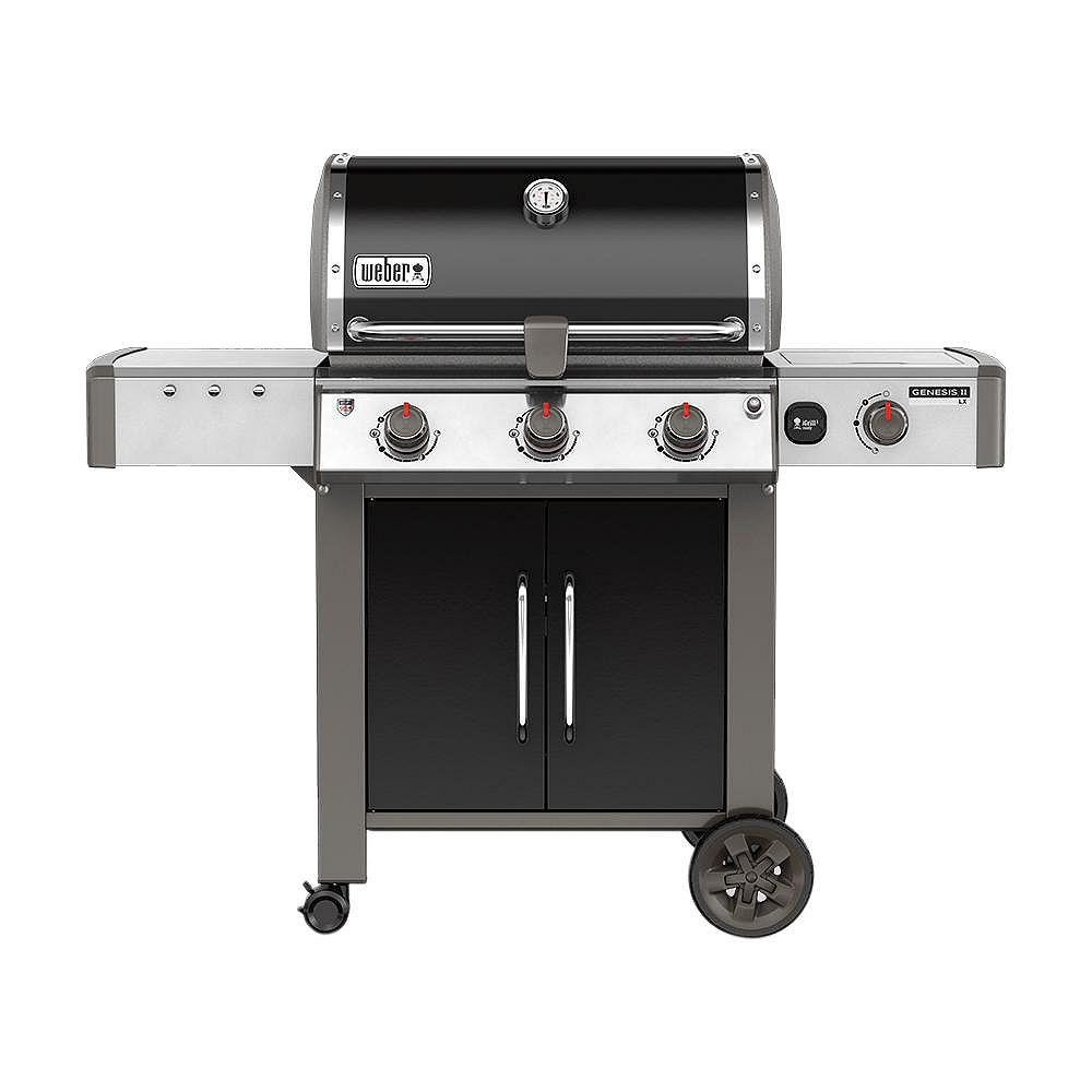 Weber Genesis II LX E-340 3-Burner Natural Gas BBQ in Black