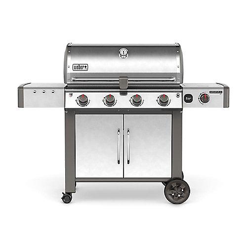Genesis II LX S-440 4-Burner Natural Gas BBQ in Stainless Steel