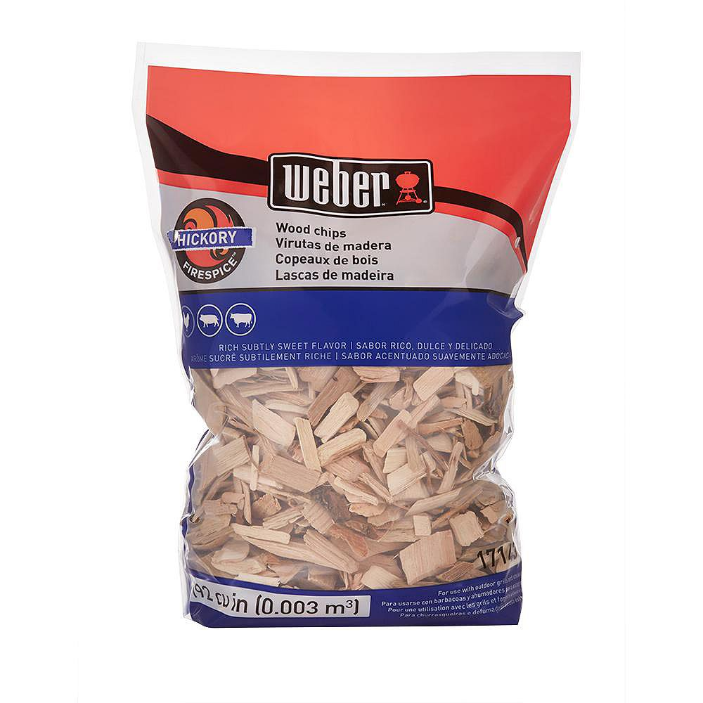 Weber Hickory 2 lbs. Wood Chips