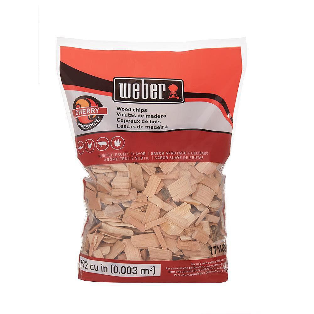 Weber 2 lb. Cherry Wood Chips