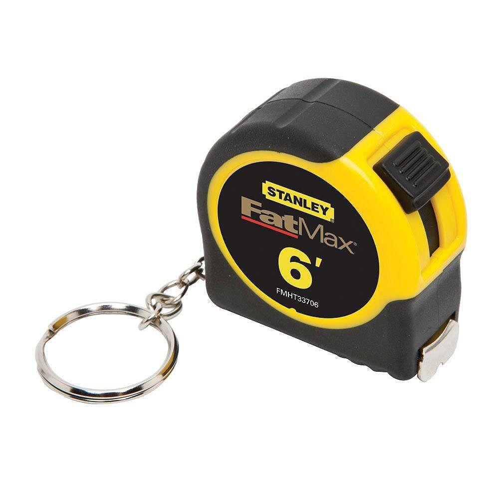 STANLEY FATMAX FATMAX 6 ft. x 1/2-inch Keychain Pocket Tape Measure