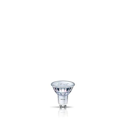 50W Equivalent Glass Bright White (3000K) GU10 LED Light Bulb ENERGY STAR®