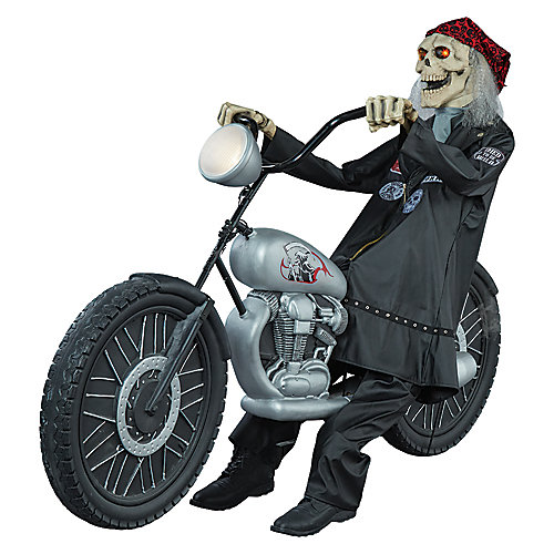 Airblown Inflatable Motorcycle-Riding Reaper