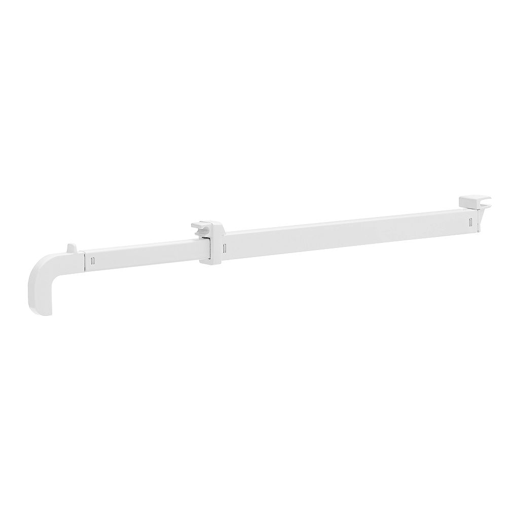 Rubbermaid Fast Track Valet Rod -White