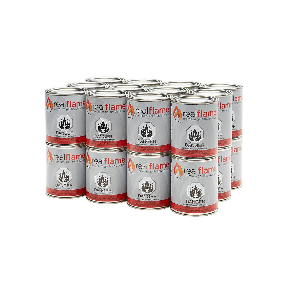 Real Flame Gel Fuel Cans (24-Pack)