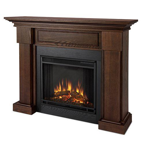 Hilcrest Fireplace in Oak