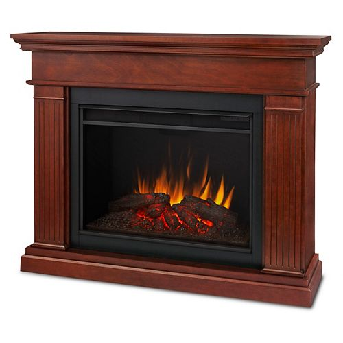 Kennedy 56-inch Grand Series Electric Fireplace in Dark Espresso