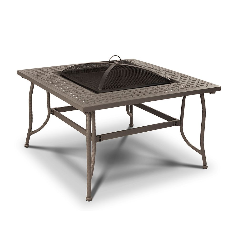 Real Flame Chelsea Outdoor Wood-Burning Fire Pit