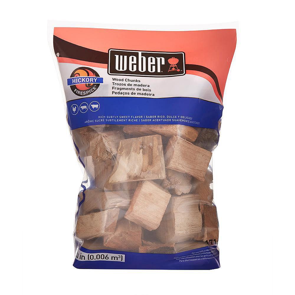 Weber 4 lb. Hickory Wood Chunks
