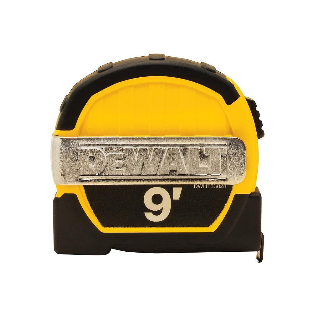 DEWALT 9 ft. x 1/2-inch Pocket Tape Measure with Magnetic Back