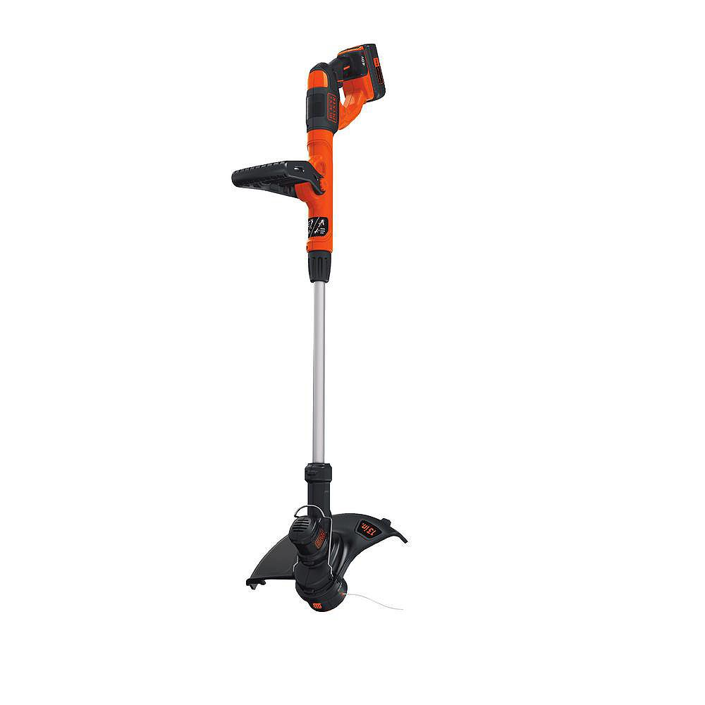 BLACK+DECKER 40V MAX Lithium-Ion Electric Cordless String Trimmer with (1) 1.5Ah Battery & Charger