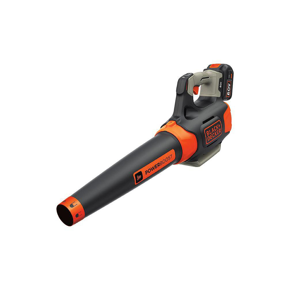 BLACK+DECKER 100 MPH 400 CFM 60V MAX Lithium-Ion Cordless Handheld Leaf Blower with (1) 1.5Ah Battery and Charger Included