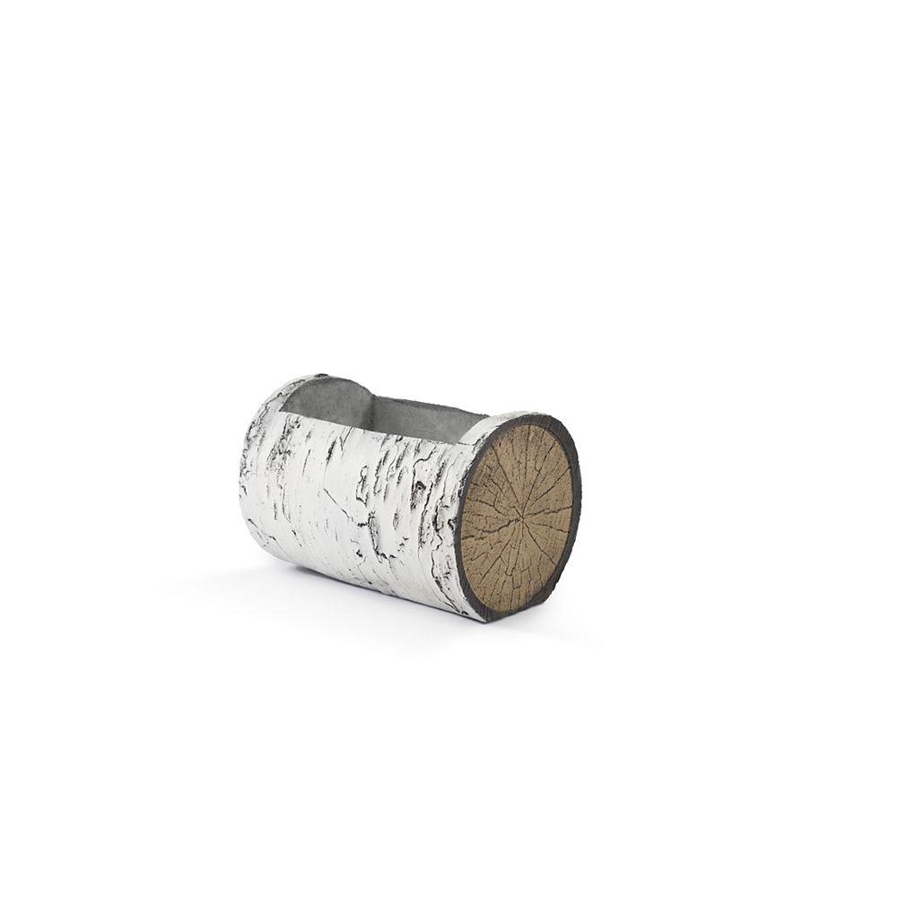 SURREAL 13-inch Horizontal Birch Planter
