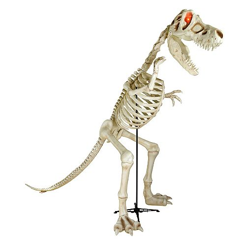 8 ft. 2 inch LED T-Rex Skeleton Dinosaur