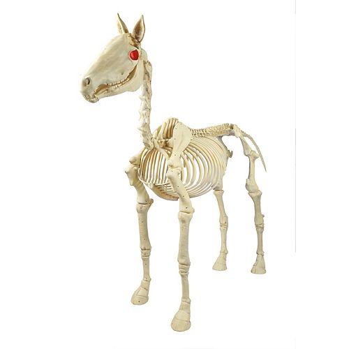 74-inch Animated Skeleton Horse