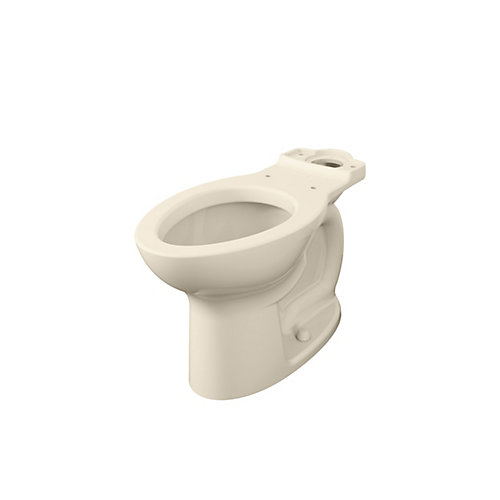 Cadet Right Height Single-Flush Elongated Bowl Toilet in Bone (Bowl Only)