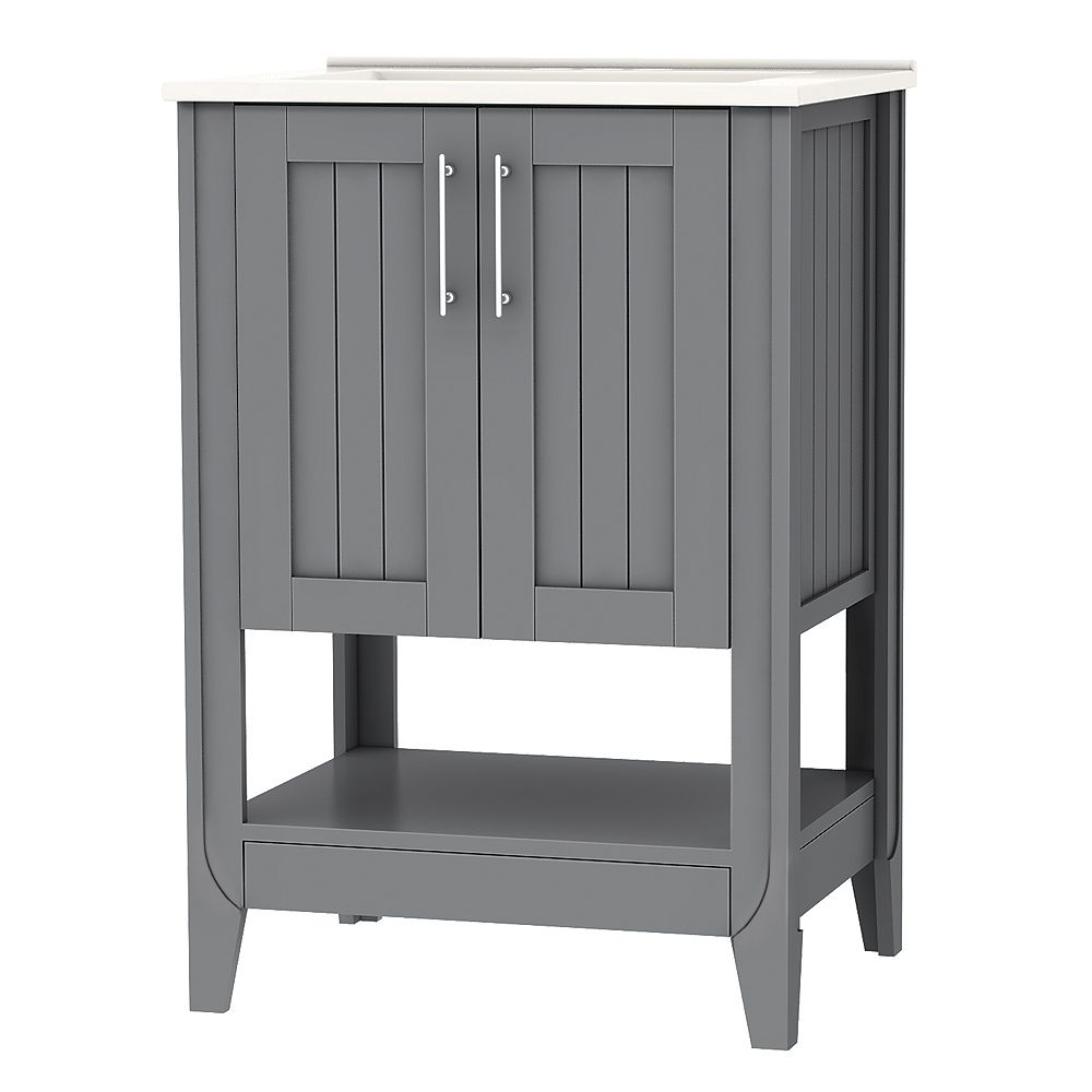 Home Decorators Collection Ensemble de meuble-lavabo Cloverton de 60,96 cm (24 po) larg.