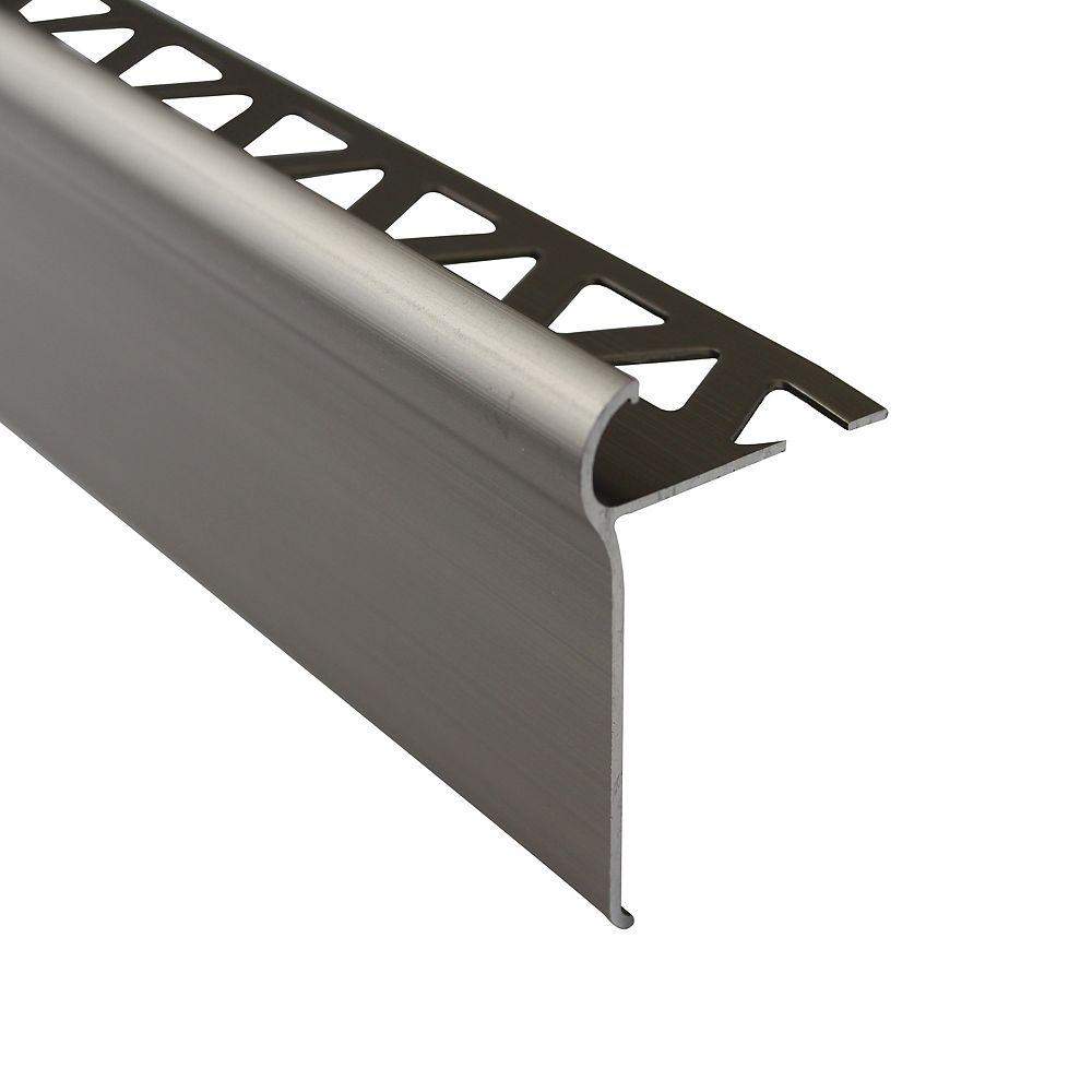 PROVA 1/2 inch (12mm) Tile Nosing 6 ft Titanium