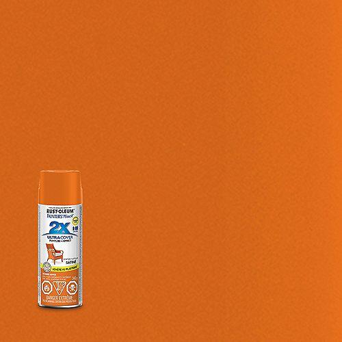 Ultra Cover Multi-Purpose Paint And Primer in Satin Rustic Orange, 340 G Aerosol Spray Paint
