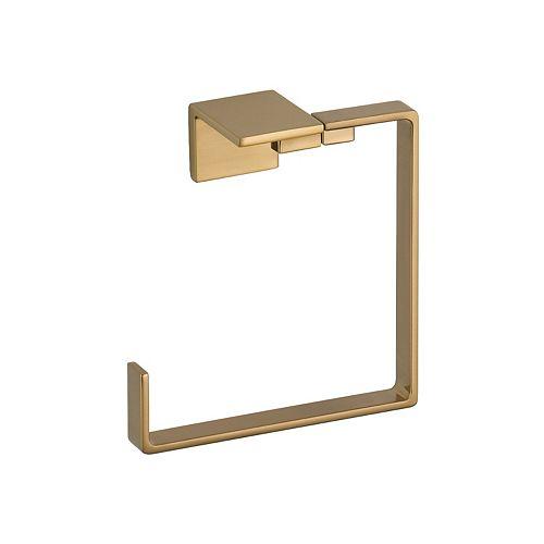 Vero Towel Ring, Champagne Bronze