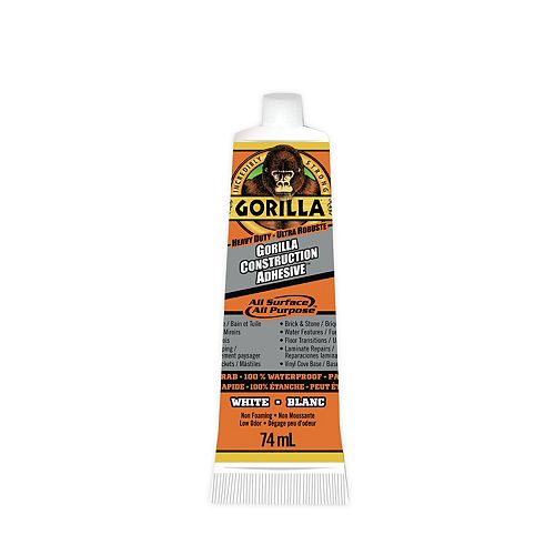 Gorilla Glue Construction Adhesive TM Tube