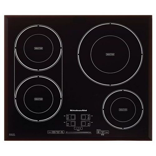 24-inch Induction Cooktop in Black with 4 Elements
