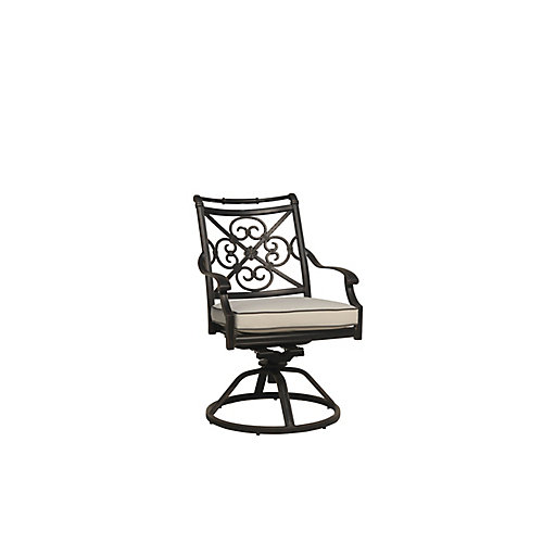 Maxwell Swivel Rocker with Cushion