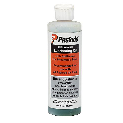 Pneumatic Oil W/Antifreeze 8Oz