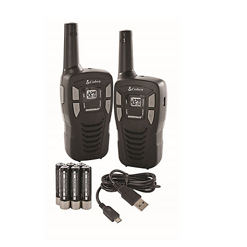 Talkie-walkie ACXT145, 26 km, ensemble de 2