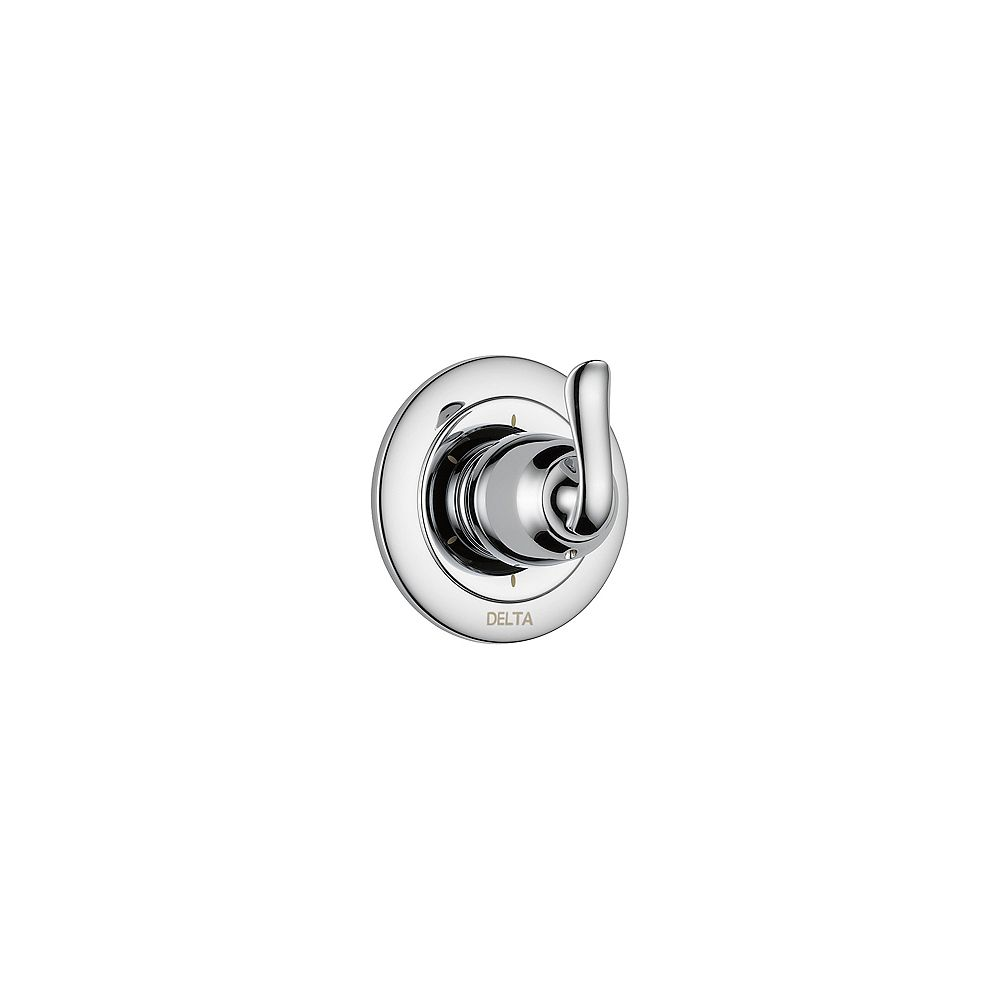 Delta Linden 6 Setting Diverter Trim, Chrome (Valve Sold Separately)
