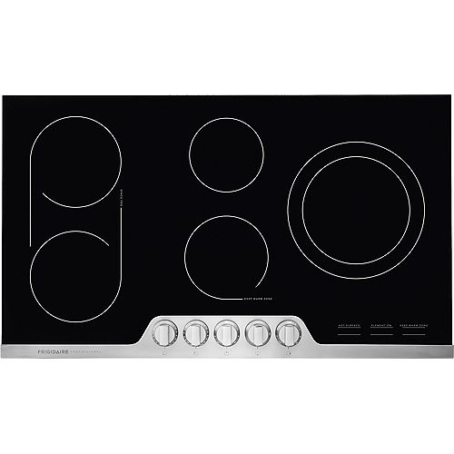 Frigidaire Professional 36-inch Electric Cooktop in Stainless Steel with 5 Elements