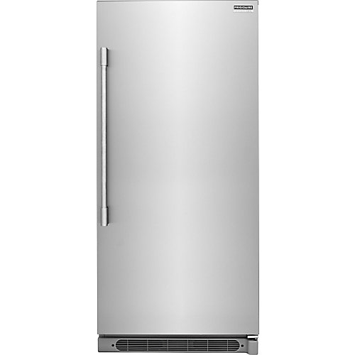 32-inch W 19 cu. ft. Freezerless Refrigerator in Stainless Steel