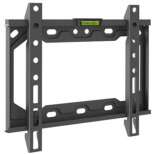 Fixed Flat / Curved Panel TV Wall Mount for 19 inch to 39 inch Screens up to 88 lbs.